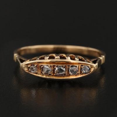 Victorian 18K Diamond Ring