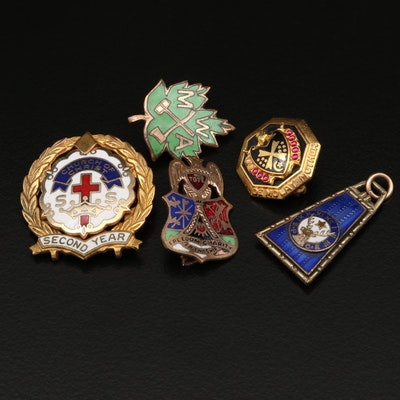 Vintage Emblematic Jewelry Assortment