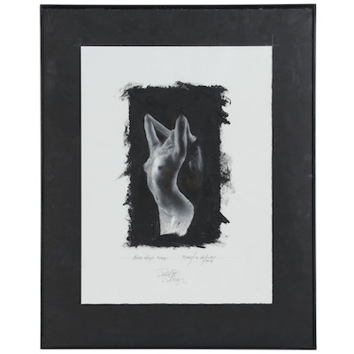 """Robert Lackney Embellished Giclée """"Shadow in my Mind"""""""