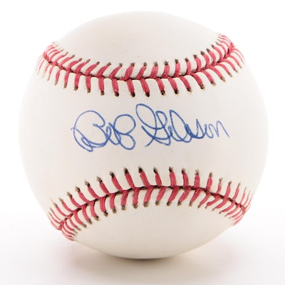 Hall of Famer Bob Gibson Signed Rawlings Official League Baseball, JSA COA