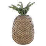 Frontgate Synthetic Wicker Pineapple Storage Basket