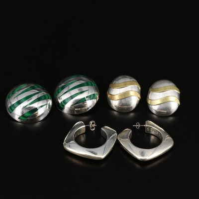 Mexican Sterling Silver Earring Selection