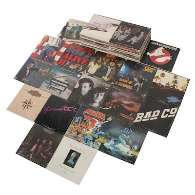 Beastie Boys, Black Sabbath, Kiss, ACDC, Ozzy Osbourne and Other Vinyl Records