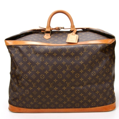 Louis Vuitton Cruiser Bag 55 in Monogram Canvas and Vachetta Leather