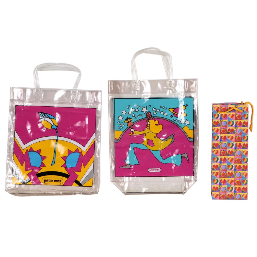 Tote and Gift Bags after Peter Max