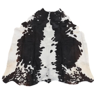 5'2 x 5'6 Natural Cowhide Area Rug