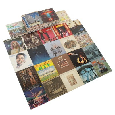 Led Zeppelin, Tom Petty and the Heartbreakers, Elvis and Other Vinyl Records