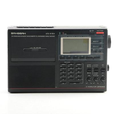 Sangean ATS 818cs FM Stereo Cassette World Receiver Radio