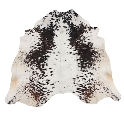 5'1 x 5'2 Natural Cowhide Area Rug