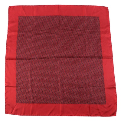 Fendi FF Pattern Silk Foulard