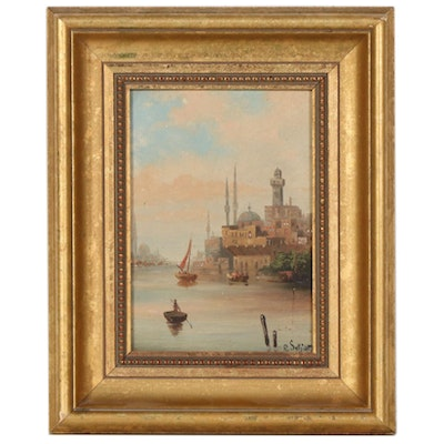 Venice Grand Canal Oil Painting