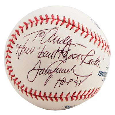 Tom Seaver Signed and Personalized Major League Baseball