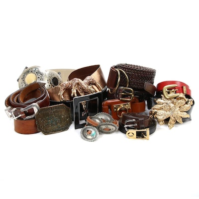 Mimi Di N, Laura Ashley and Other Leather Belts