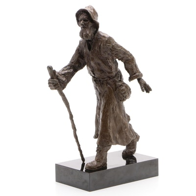 Cold Cast Bronze Sculpture of Man
