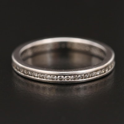14K Diamond Eternity Band
