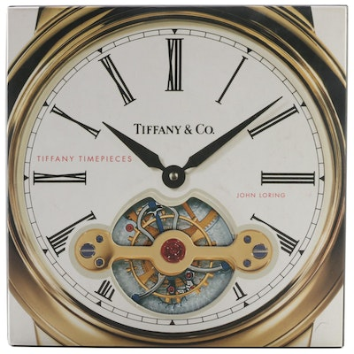 "First Printing ""Tiffany Timepieces"" by John Loring, 2004"