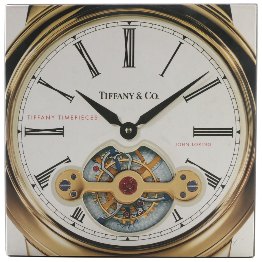 """First Printing """"Tiffany Timepieces"""" by John Loring, 2004"""