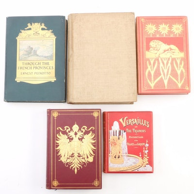 "First Edition ""Through the French Provinces"" with Additional Travel Books"