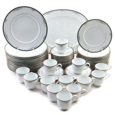 """Noritake """"Landon'' Porcelain Dinnerware, 1993–2006"""