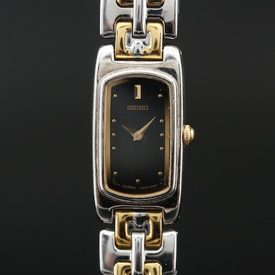 Seiko Two Tone Quartz Wristwatch