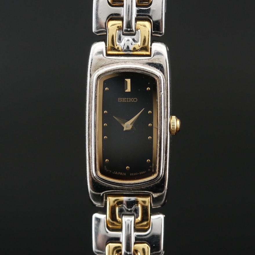 Seiko Two Tone Quartz Wristwatch