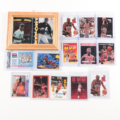 1990s Michael Jordan Basketball and Baseball Cards