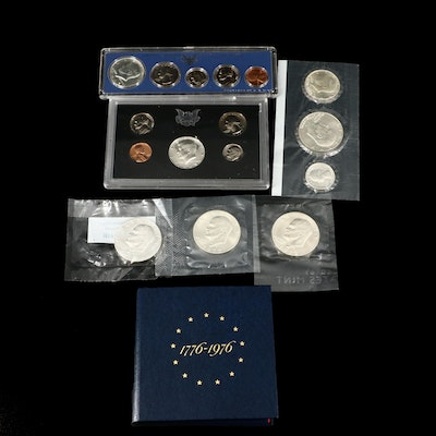 Assortment U.S. Silver Coins and Coin Sets