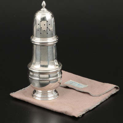 Becht & Hartl for Cartier Sterling Silver Sugar Shaker, 1935–1950