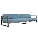 Extended Patio Sofa, 21st Century