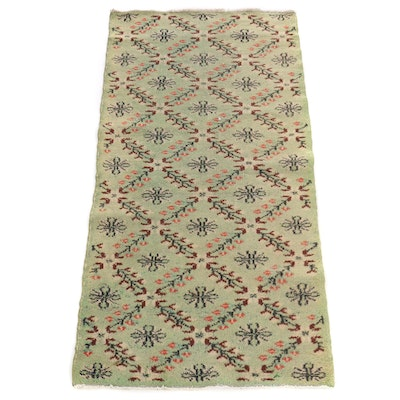 2'11 x 6' Hand-Tufted Floral Wool Area Rug