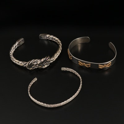 Sterling Silver Cuff Bracelet Selection