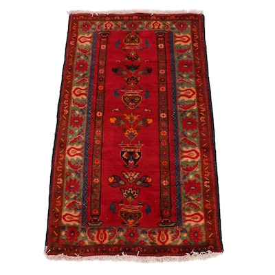 2'3 x 4'1 Hand-Knotted Pakistani Prayer Rug