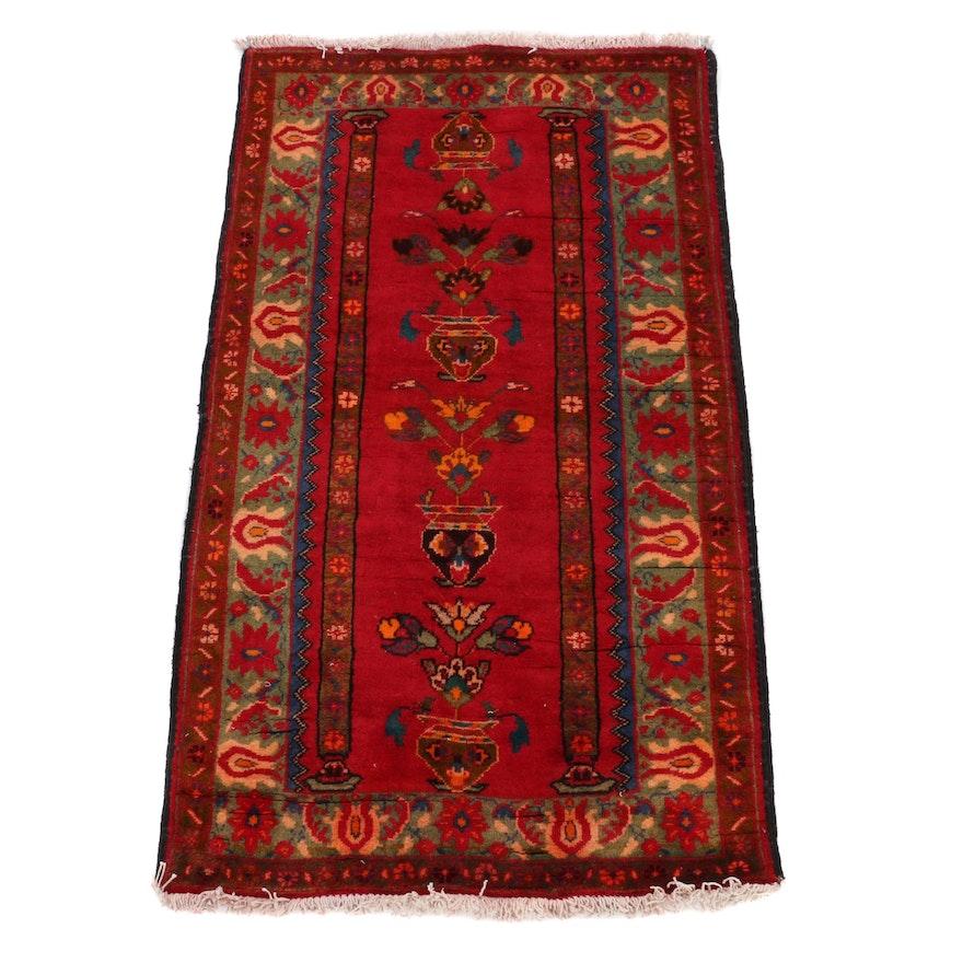 2'3 x 4'1 Hand-Knotted Pakistani Prayer Rug