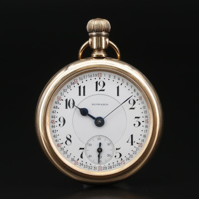 1912 E. Howard Co. Railroad Grade Pocket Watch