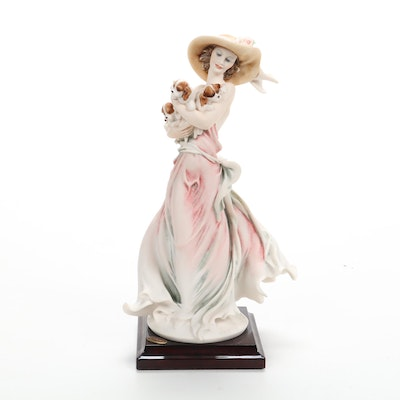 """Giuseppe Armani for Capodimonte """"New Friends"""" Figurine of The Year, 2003"""