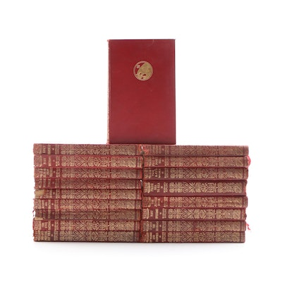 Pocket Library Books by Rudyard Kipling, Eighteen Volumes, Early 20th Century