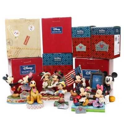 "Jim Shore ""Loyal Pluto"" and Other Disney Traditions Collectible Figurines"