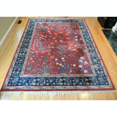 8' x 11' Machine Made Rug Gallery Chinese Wool Area Rug
