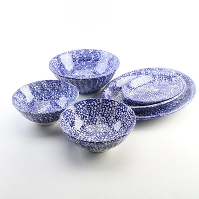 Roma, Inc. Italian Ceramic Centerpiece Bowls and Platters