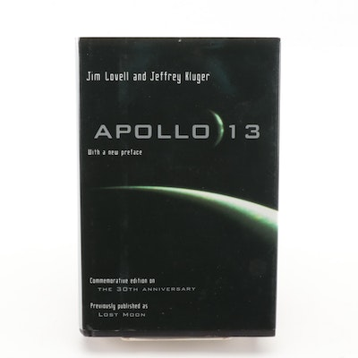 "Jim Lovell Signed ""Apollo 13"" Commemorative Edition, 2000"