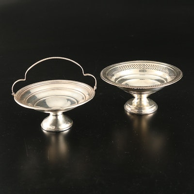 D.S. Spaulding Co. and Other Weighted Sterling Silver Compote, Eatly 20th C.