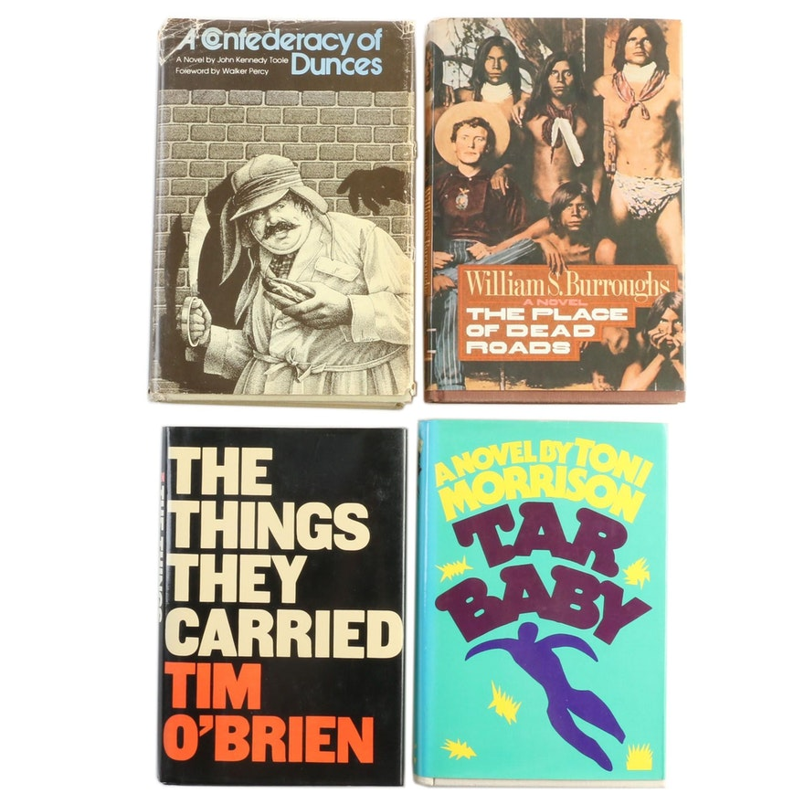 "First Edition Fiction Books Featuring ""The Things They Carried"" by Tim O'Brien"