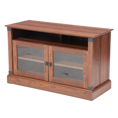 Contemporary Laminate Television Console