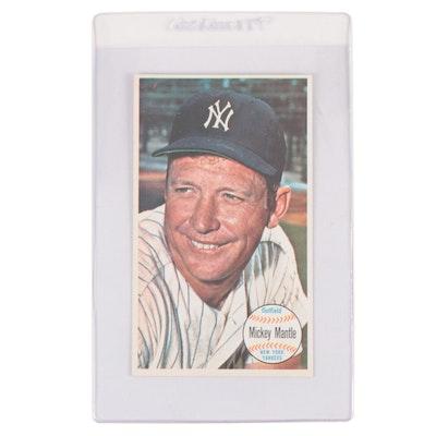 "1964 Topps Mickey Mantle New York Yankees ""Giant"" Baseball Card"