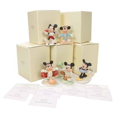 Lenox Walt Disney Mickey Mouse Showcase Collection Figurines