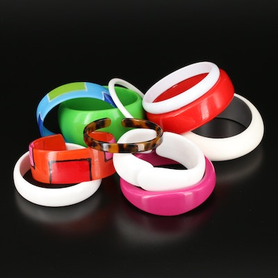 Vintage Colorful Bangles