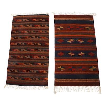 Handwoven Southwestern Design Wool Rugs