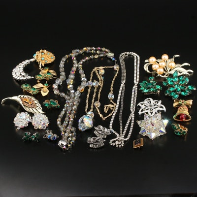 Vintage Costume Jewelry Selection