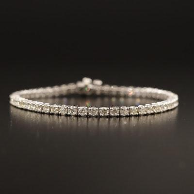 14K 5.25 CTW Diamond Tennis Bracelet