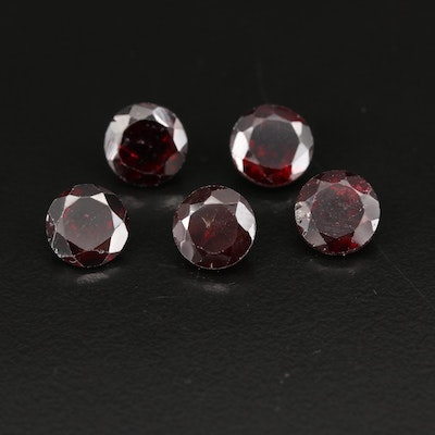 Loose 14.50 CTW Round Faceted Garnets
